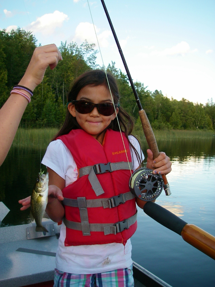 Bluegill perfect to teach kids how to fly fish current for Bluegill fly fishing