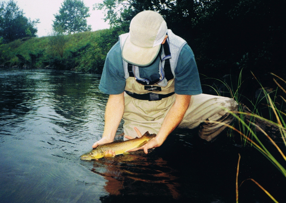 Boardman river fly fishing current works guide service for Betsie river fishing report