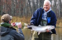 Book Fly Fishing Guide Trips - Traverse City, Michigan