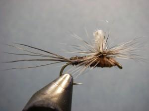 Borchers Drake Fly Pattern - Parachute