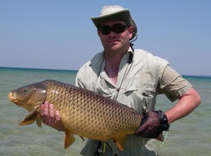 Carp Fly Fishing in Traverse City