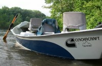 Guide Trip - Clackacraft Drift Boat