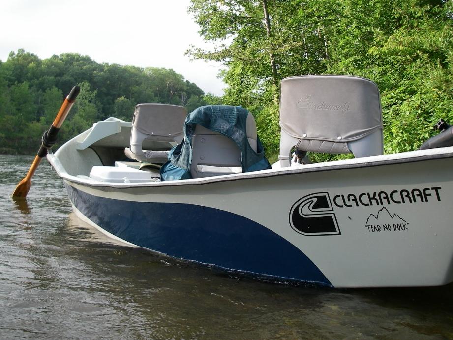 Clackacraft Drift Boat