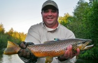 Guide Trip - Fly Fishing the Manistee River