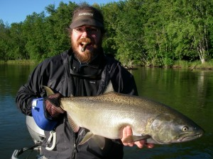 Lower Manistee River - Salmon Fly Fishing