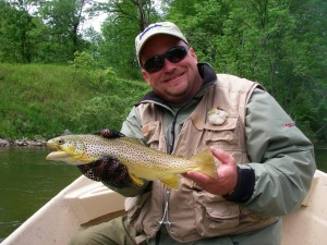 Lower Manistee River Trout Fishing