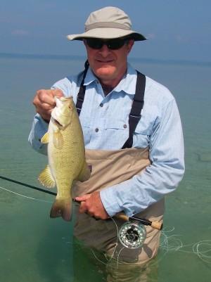 Smallmouth Bass Fishing - Grand Traverse Bay