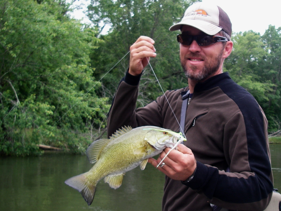 Smallmouth bass fishing rivers near traverse city mi for Smallmouth river fishing