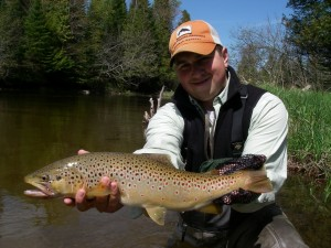 Streamer Fly Fishing For Trout