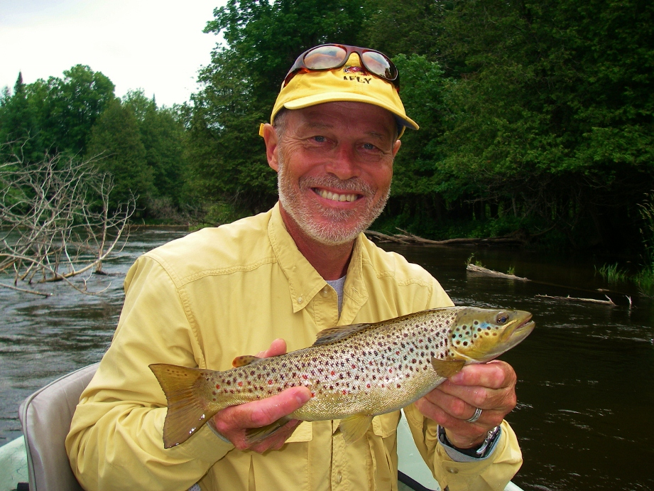 Trout fly fishing northern michigan near traverse city for Fly fishing michigan