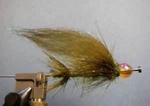 Tube Sucker Fly Pattern - Olive