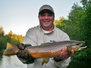 Upper Manistee River - Dry Fly Fishing