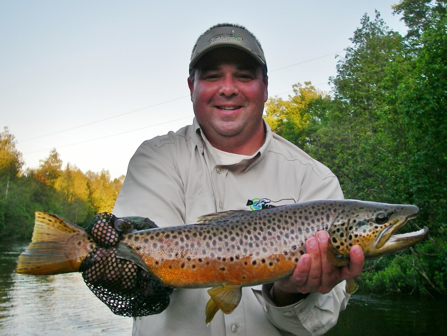 Upper manistee river dry fly fishing current works for Manistee river fishing report