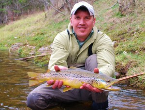Seductive Streamer Fishing Brown Trout Success I