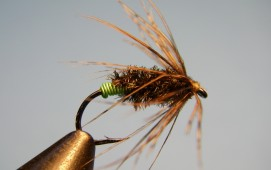 Green Butt Soft Hackle - Diving Caddis - Mothers Day Caddis Pattern