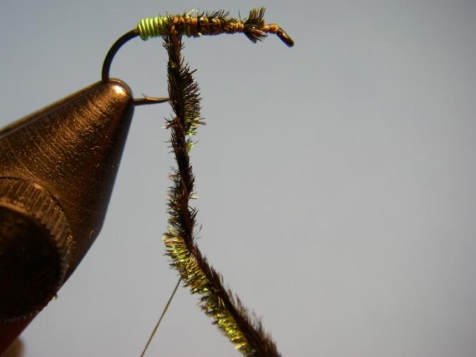 Green Butt Soft Hackle - Step 5