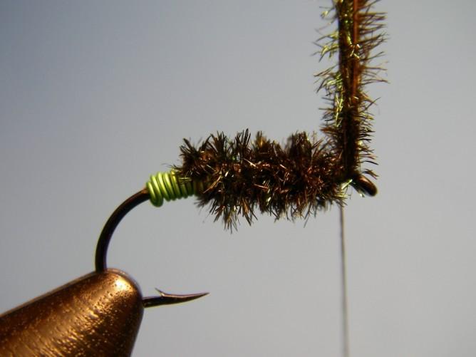 Green Butt Soft Hackle - Step 5.5