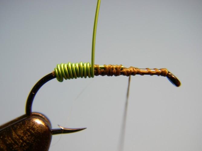 Green Butt Soft Hackle - Step 3