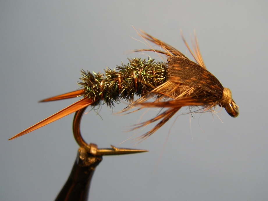 how to tie a spun trout fly