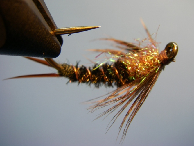 Twenty Pounder Stoneyfly Pattern Variation