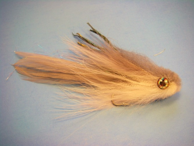 Bobble Head Baitfish Fly Pattern