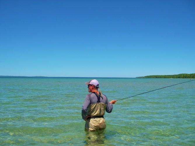 Practice Casting - Open Water